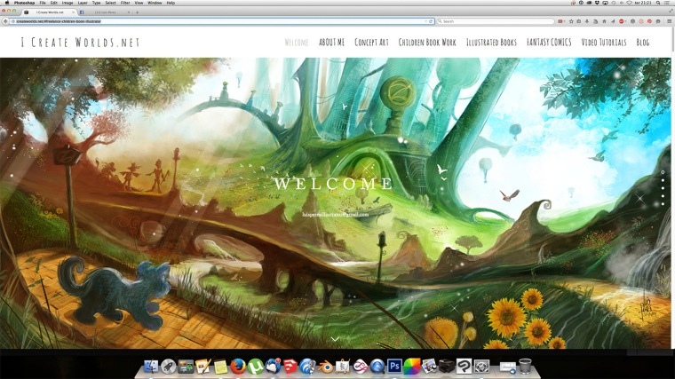 Children book illustration website